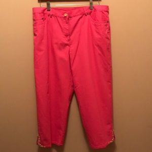 Ruby Rd. Pink Size 16 Capris